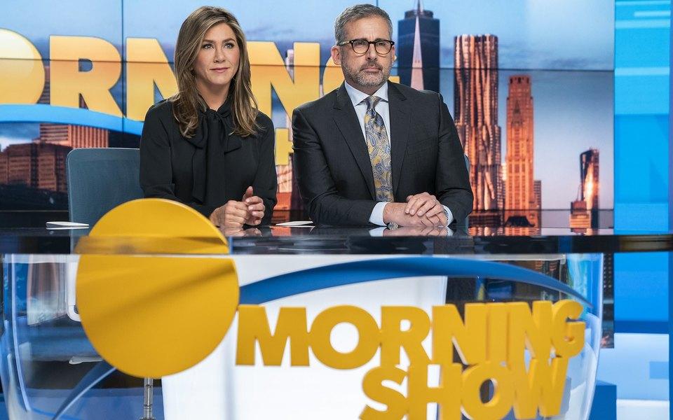 «Утреннее шоу» сДженниффер Энистон иРиз Уизерспун: флагманский сериал-катастрофа нового сервиса Apple