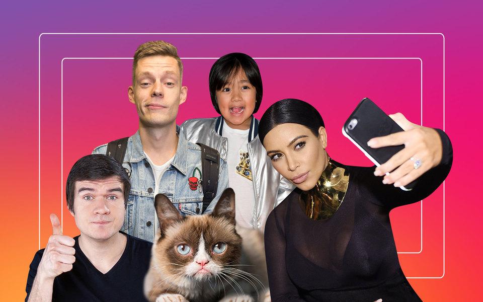 Итоги десятилетия: 10 главных героев эпохи соцсетей — отКим Кардашьян доЮрия Дудя