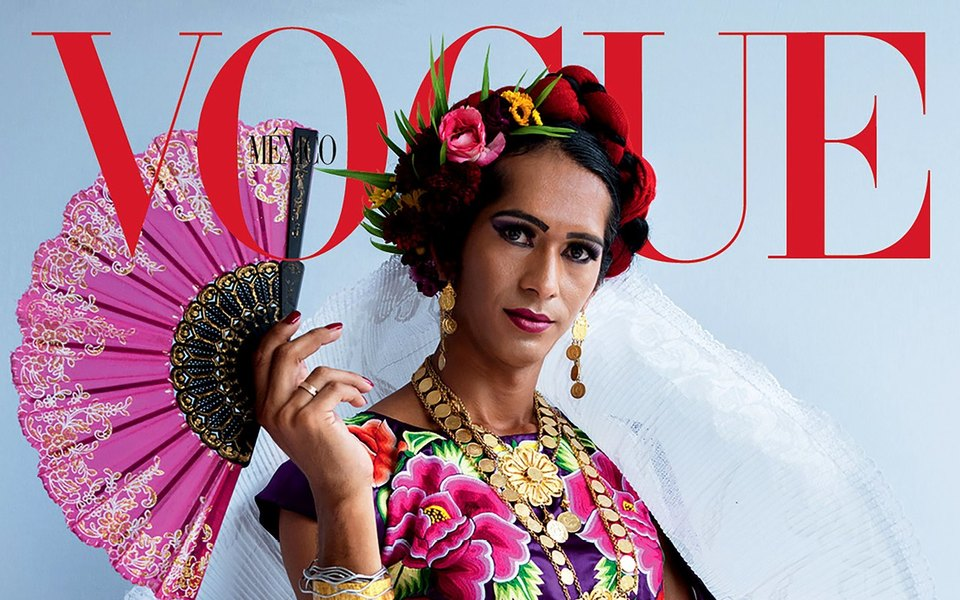 Для обложки Vogue снялась трансгендерная персона — представительница сословия мукси, «третьего пола» вМексике