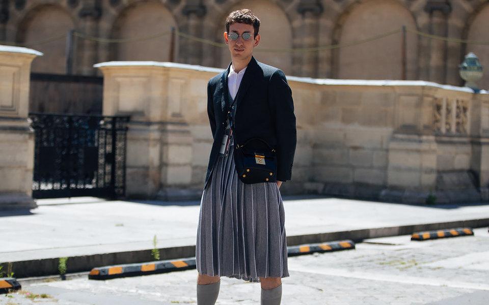 Вопрос времени: почему мужчины неносят юбки?