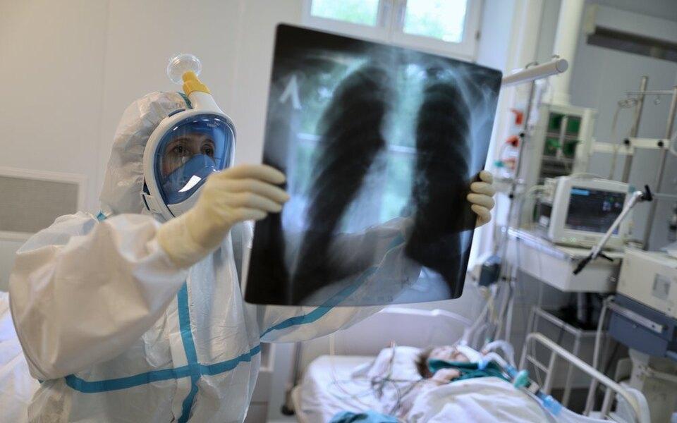 В России засутки выявили 8984 новых случаев заражения коронавирусом