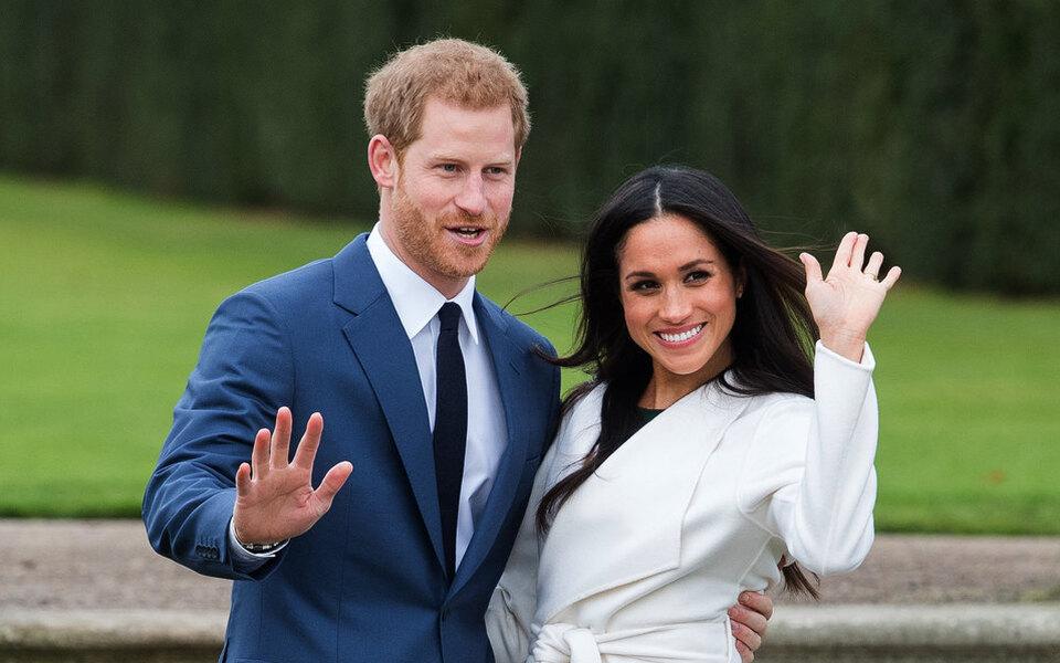 Принц Гарри и Меган Маркл показали новорожденную дочь Елизавете II