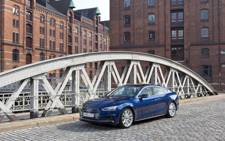 Audi представили новое поколение A5 Sportback