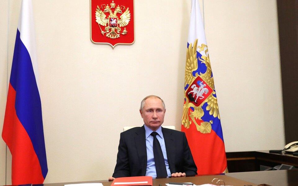 Путин поручил ввести запрет наотождествление ролей СССР иГермании во Второй мировой войне