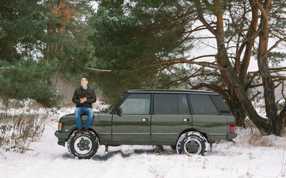 Алексей Уманский иLand Rover Range Rover Vogue LSE