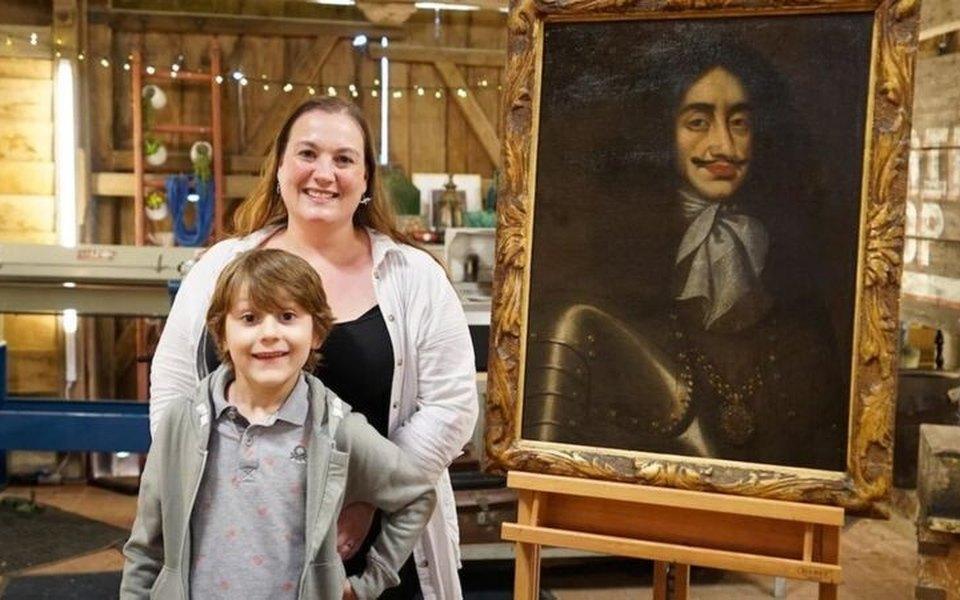 Семилетний британец убедил маму отреставрировать картину. Она оказалась раритетом XVII века