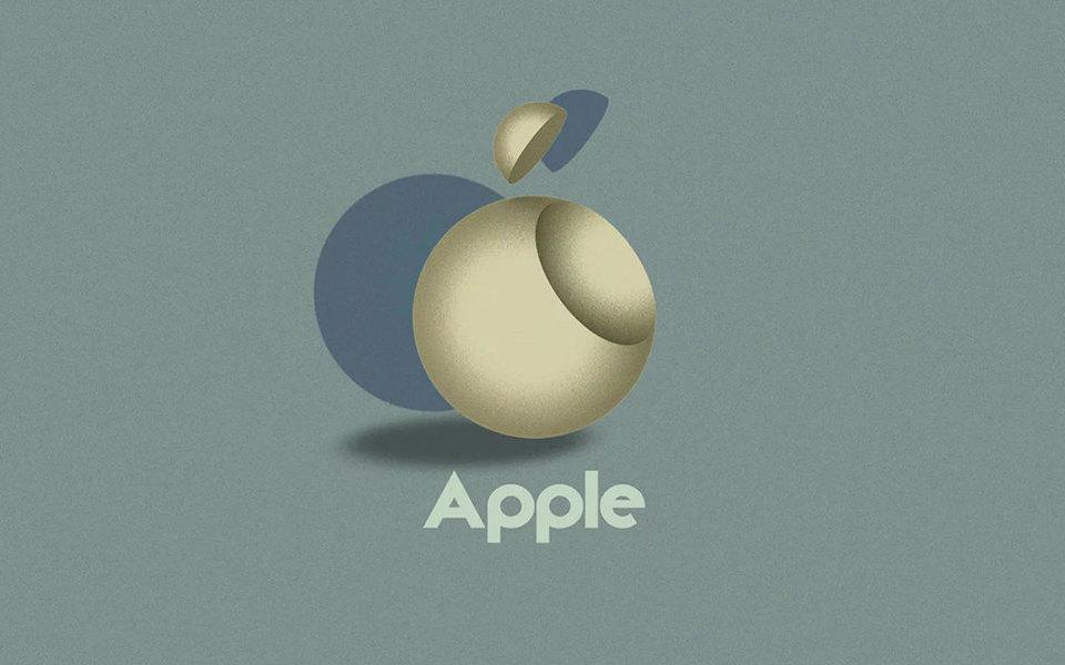 Посмотрите налоготипы Apple, adidas, Google идругих брендов встиле баухаус