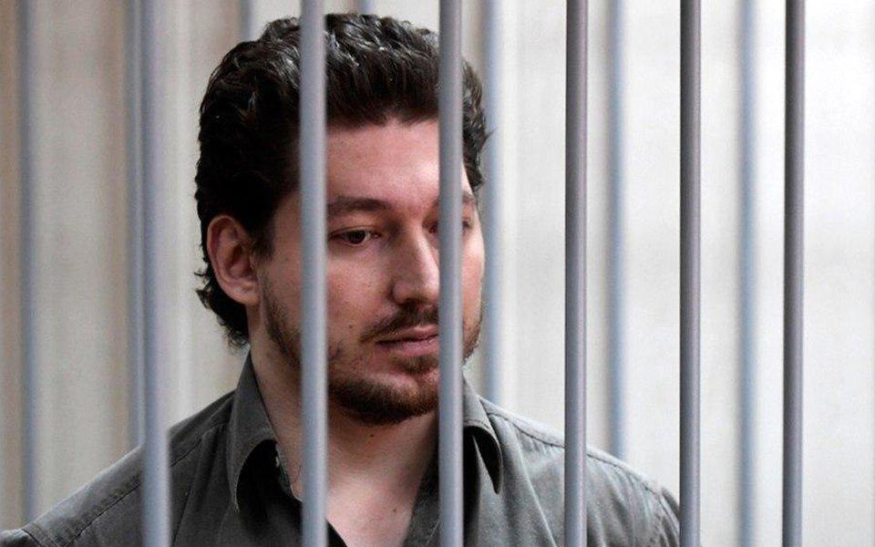 Кирилл Жуков во время заседания суда