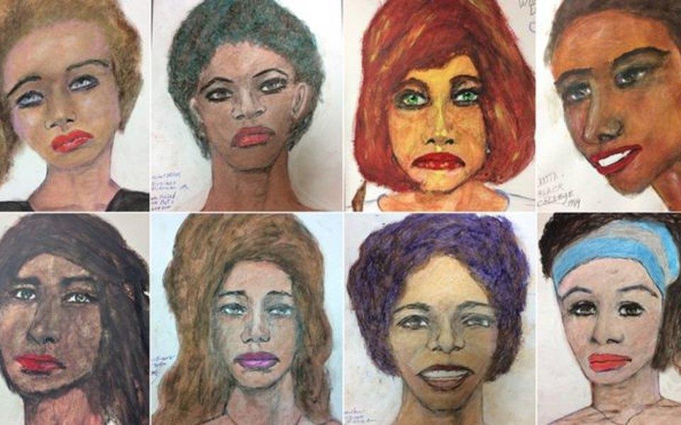 Серийный маньяк вСША убил 90 женщин инарисовал их портреты. ФБР их опубликовали