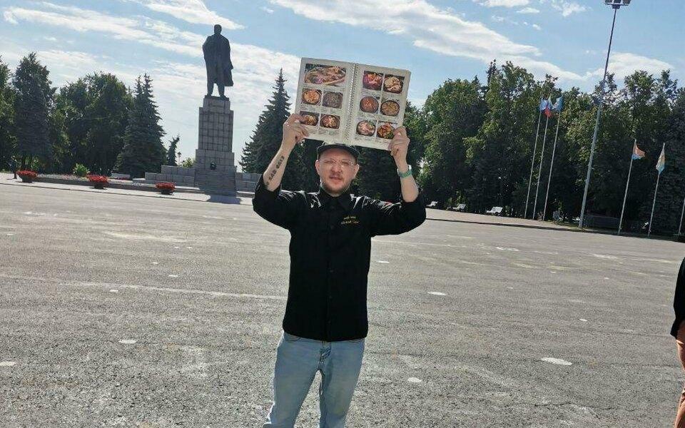 В Ульяновске составили административный протокол нашеф-повара. Он вышел кадминистрации города сменю хинкальной
