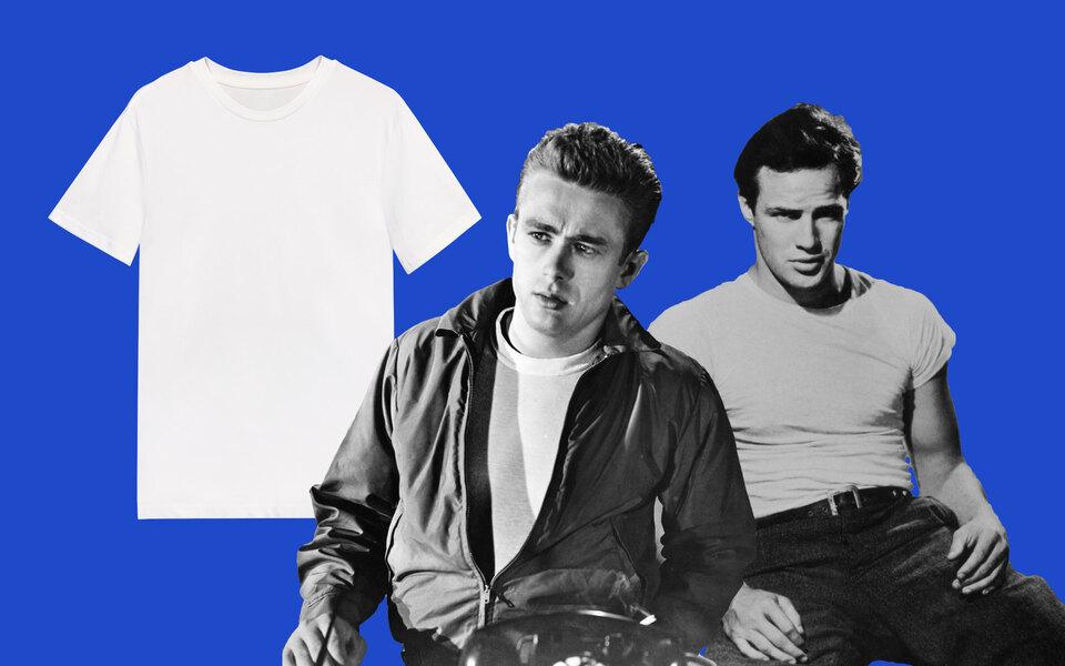 От белья холостяков докультовой базы: краткая история белой футболки вмужском гардеробе