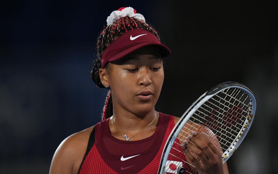Вторая ракетка мира Наоми Осака вылетела в третьем раунде олимпийского теннисного турнира в Токио