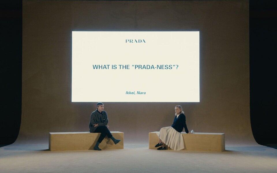 Раф Симонс иМиучча Прада проведут дискуссию со студентами после мужского показа Prada