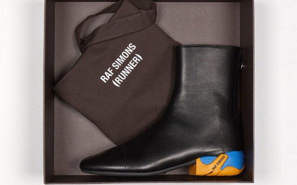 Дизайнер Раф Симонс собирался запустить новую линию спортивной обуви — но это оказались некроссовки