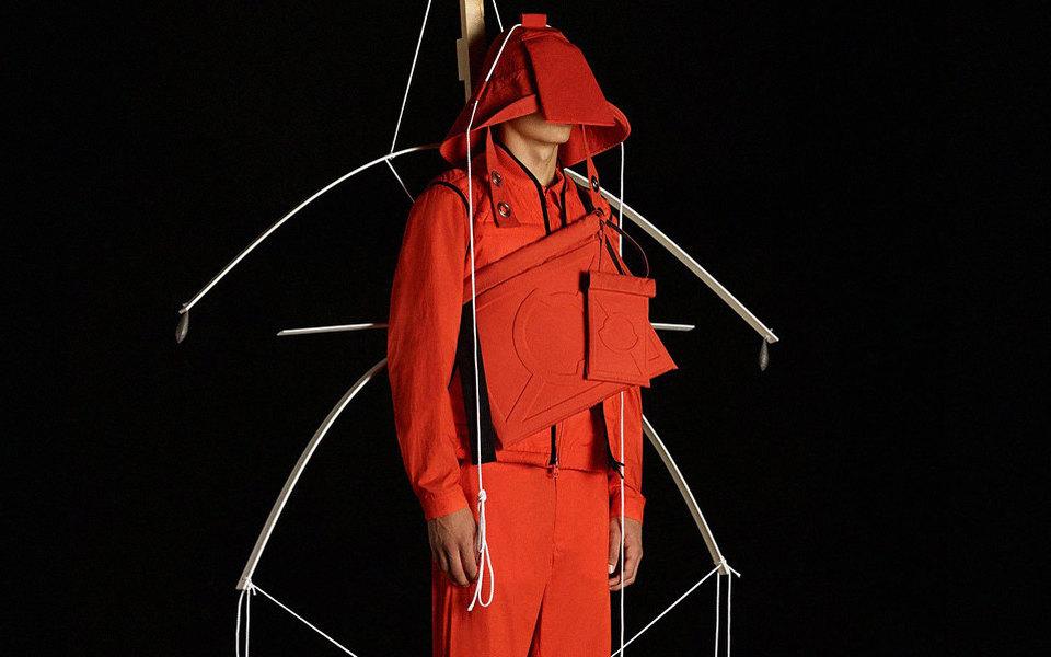Люди-модули вновой коллекции Крейга Грина дляMoncler — это чистое искусство