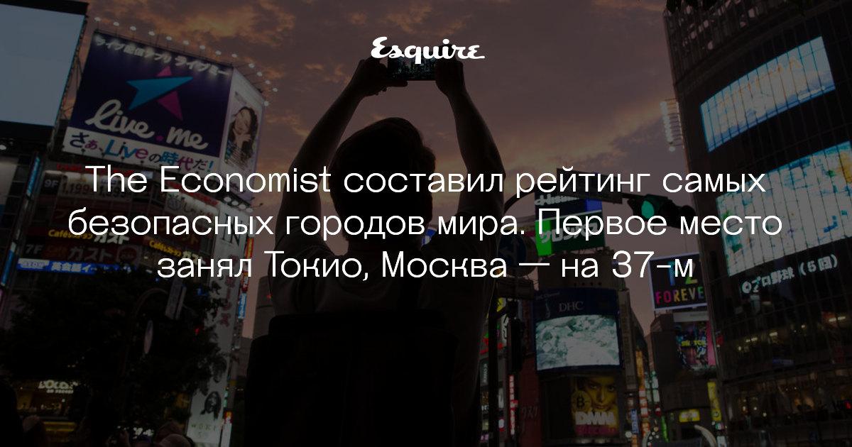 Москва заняла первое место в мире
