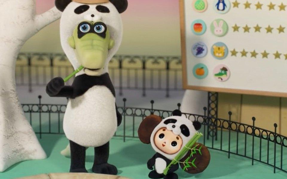 В Японии вышел 3D-мультфильм проЧебурашку. Внем герои косплеят других зверей, чтобы повысить рейтинг популярности крокодила Гены