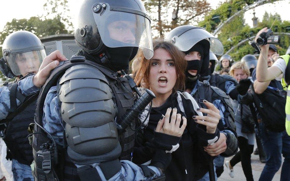 В Москве прошла акция зачестные выборы. Главное вцифрах