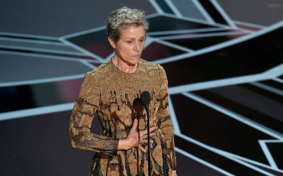 У Фрэнсис МакДорманд украли «Оскар» вскоре после церемонии наГубернаторском балу