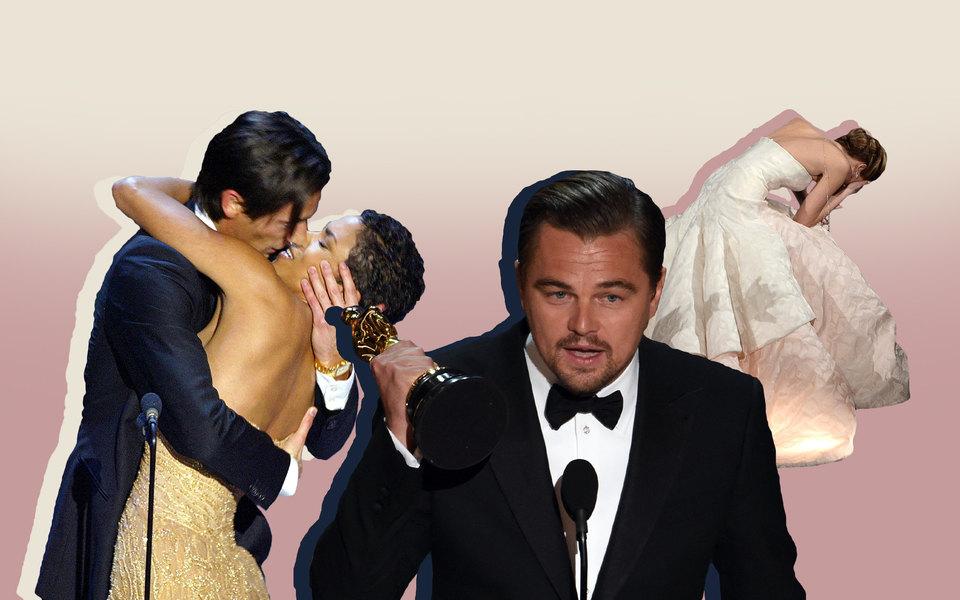 20 самых знаковых моментов завсю историю премии «Оскар»
