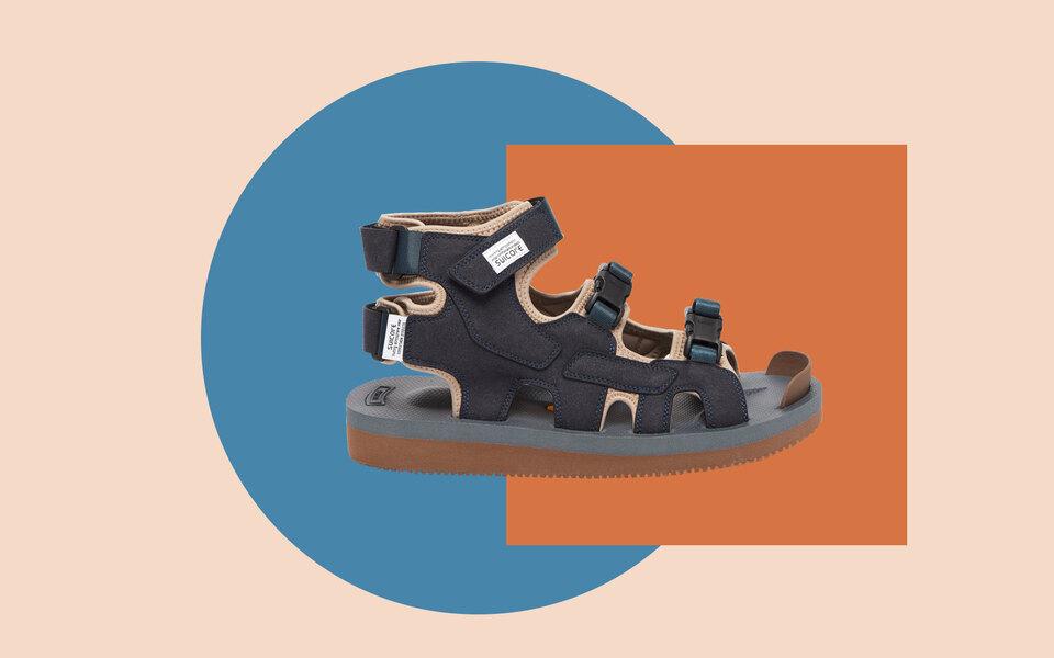В кроссовках жарко, а сандалии ненравятся? Носите их гибрид