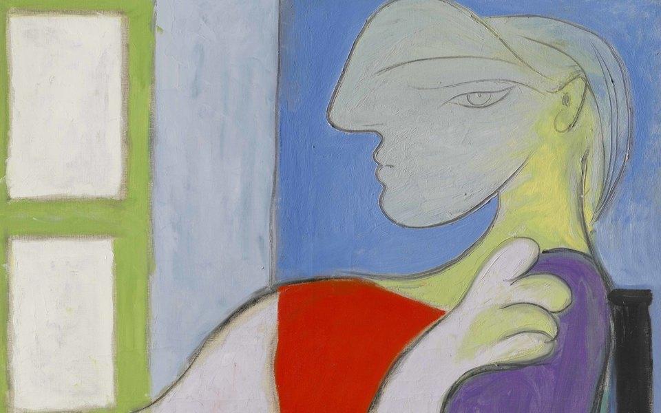 Картину Пикассо «Женщина, сидящая уокна» продали нааукционе за103 миллиона долларов