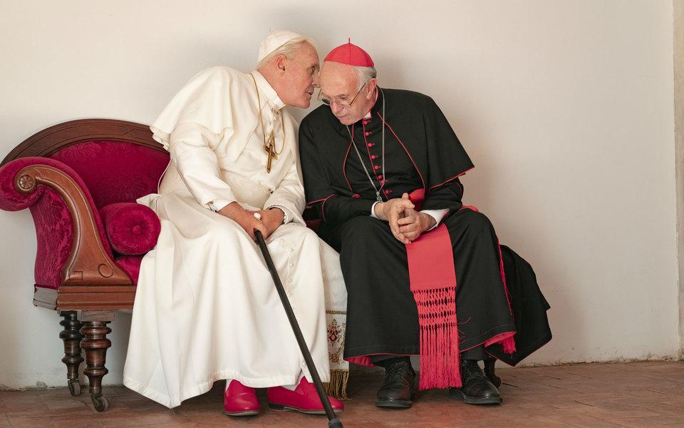Вышел тизер фильма Netflix «Два папы». Вглавных ролях — Энтони Хопкинс иДжонатан Прайс