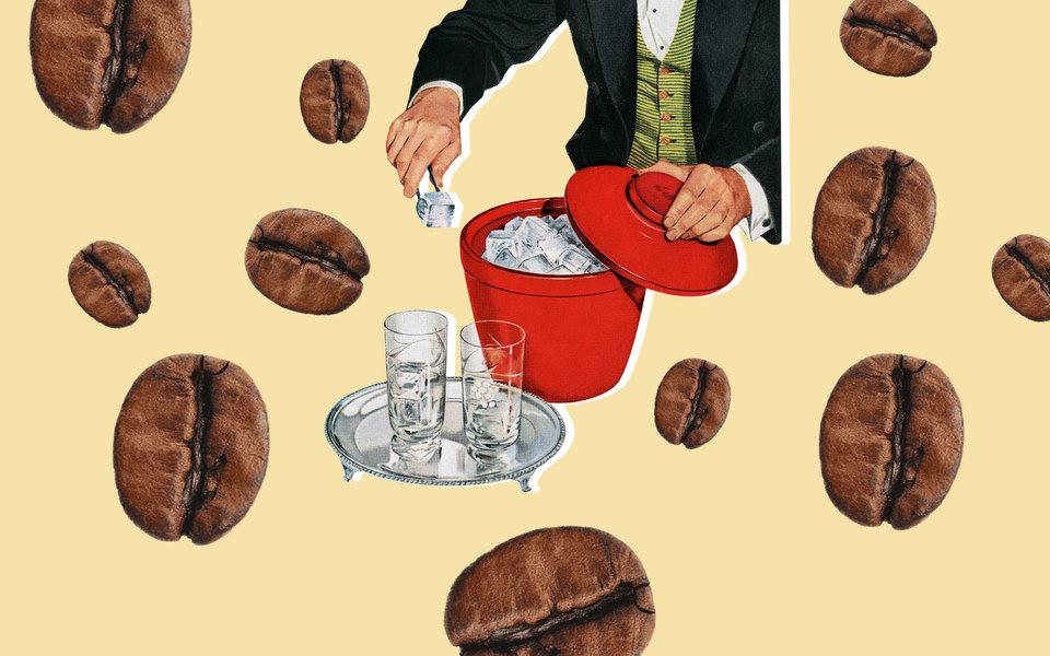 Холодный кофе: история создания ирецепты приготовления (простые иот лучших бариста)