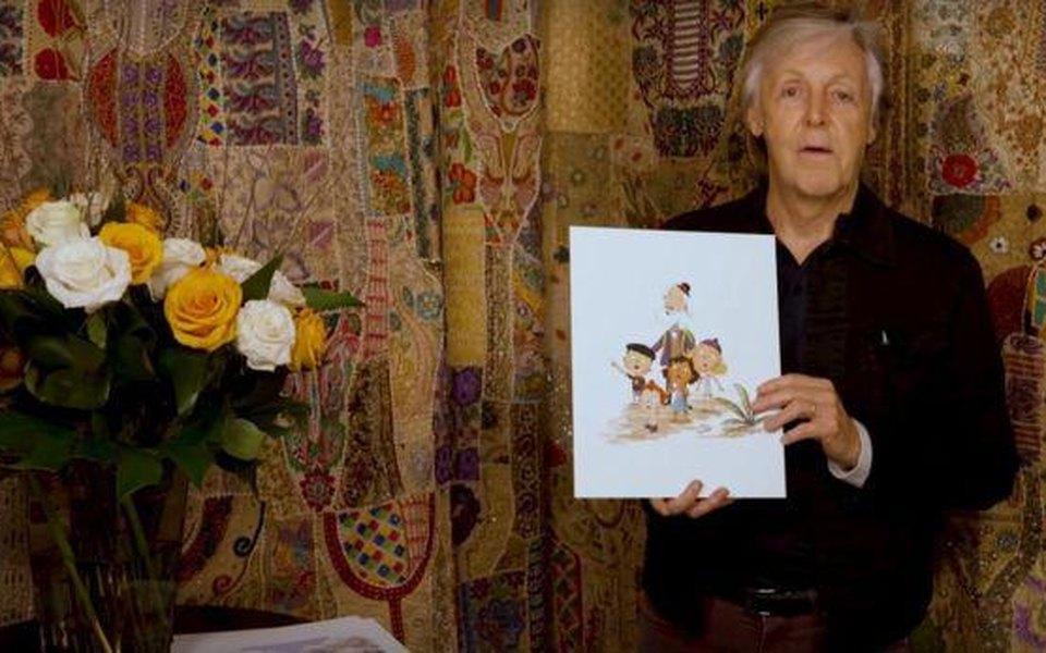 Пол Маккартни выпустил детскую книгу подочень битловским названием Hey Grandude!