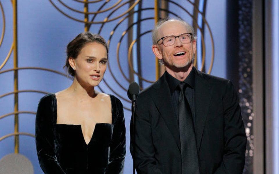 Натали Портман объявила номинантов на«Золотом глобусе». Мужчины решили, что это был черный юмор
