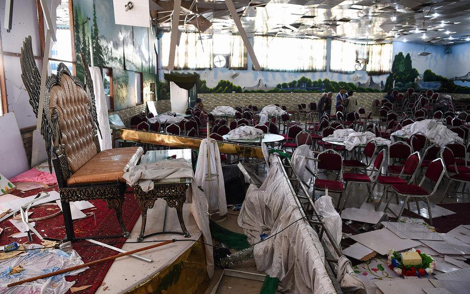 В Кабуле насвадьбе взорвалась бомба. Погибли более 60 человек