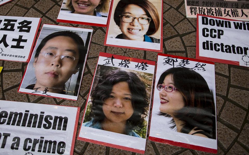#WoYeShi. Китаянки присоединились кдвижению против сексуальных домогательств