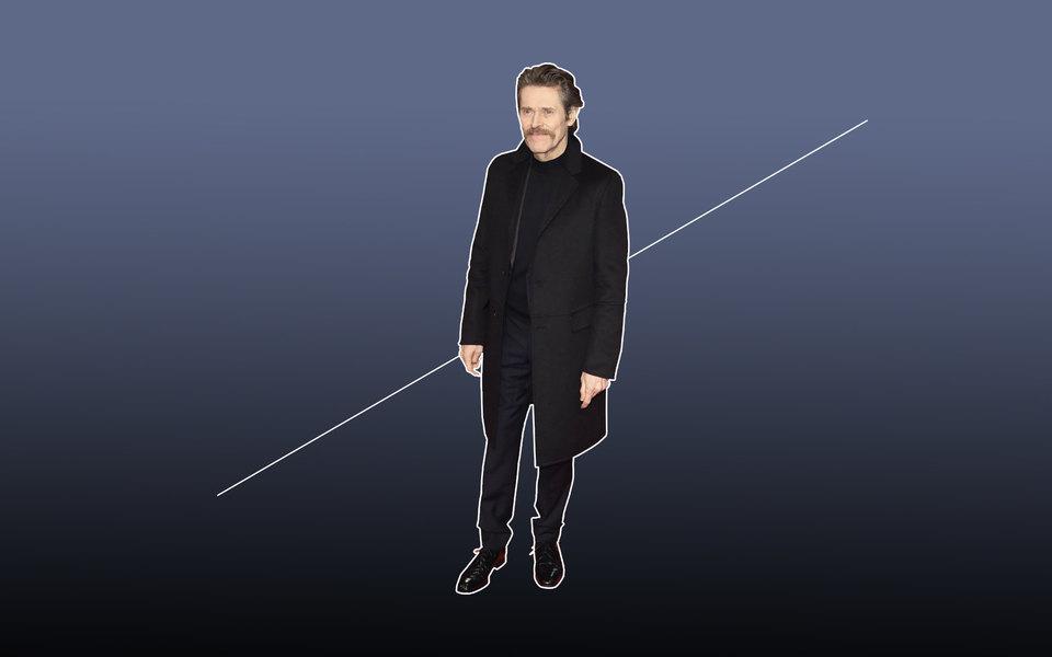 Total black: как одеться целиком вчерный иклассно выглядеть, как Уиллем Дефо