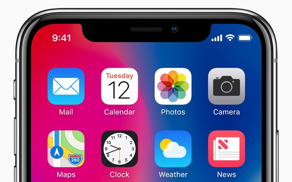 Apple показала новый флагман iPhone X