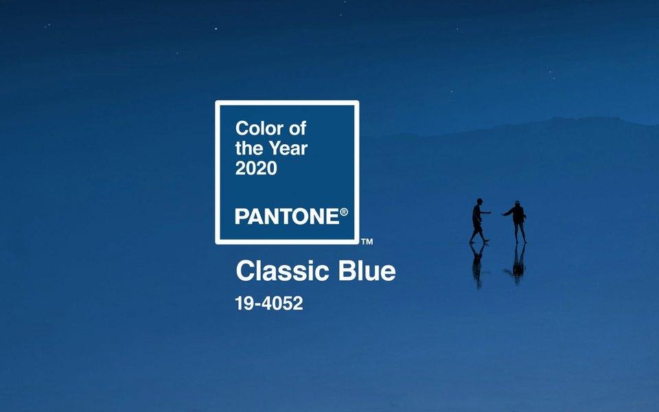 Pantone назвали цвет года 2020 — это «классический синий»