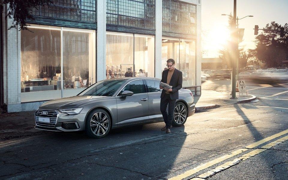 Audi A6 — бизнес-седан сдушой суперкара