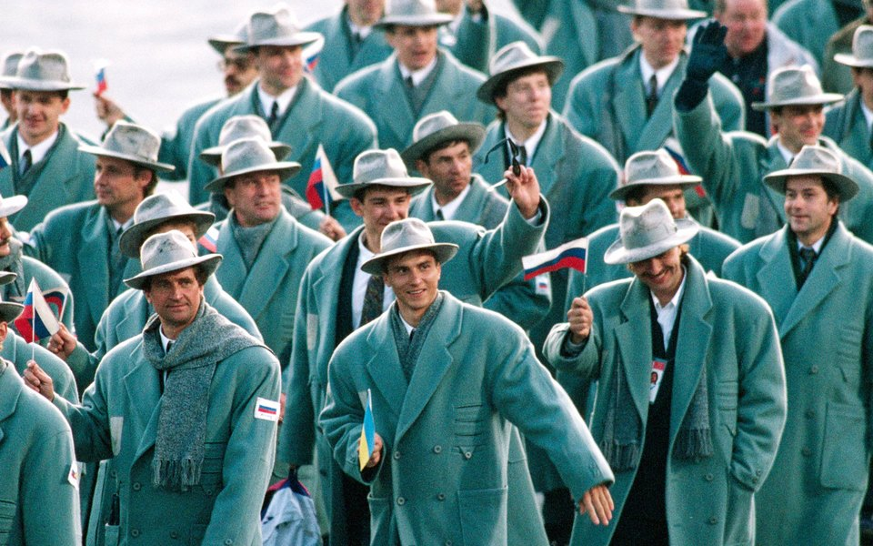 Как менялась российская олимпийская форма за последние 110 лет