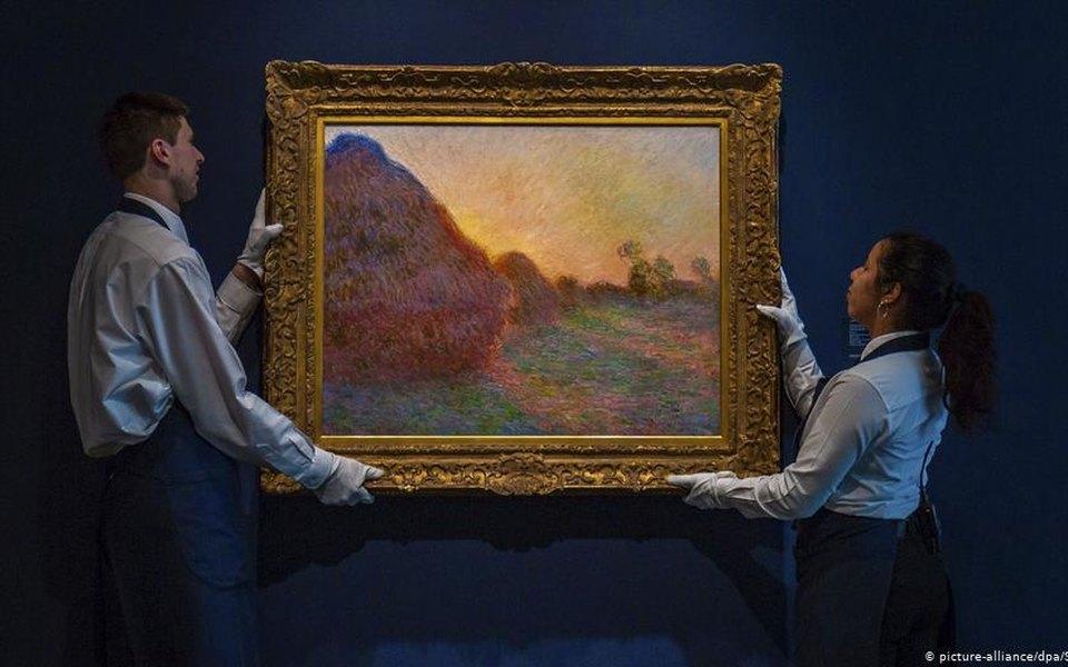 Полотно Клода Моне было продано зарекордные $110,7 млн. Теперь это самое дорогое произведение художника-импрессиониста