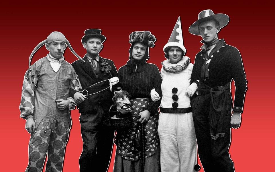 Вампир, Шрек, микрофон иастронавт: как известные мужчины нарядились наХеллоуин