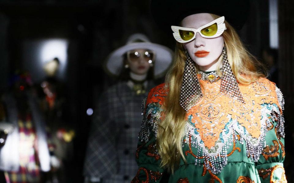 Gucci проведут круизный показ вАмерике