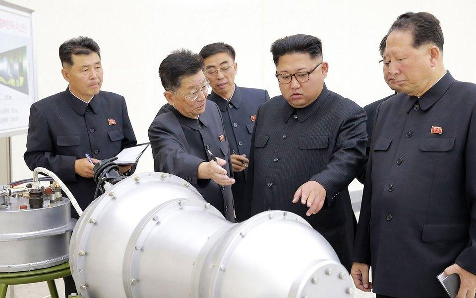 Cеверная Корея провела шестое ядерное испытание