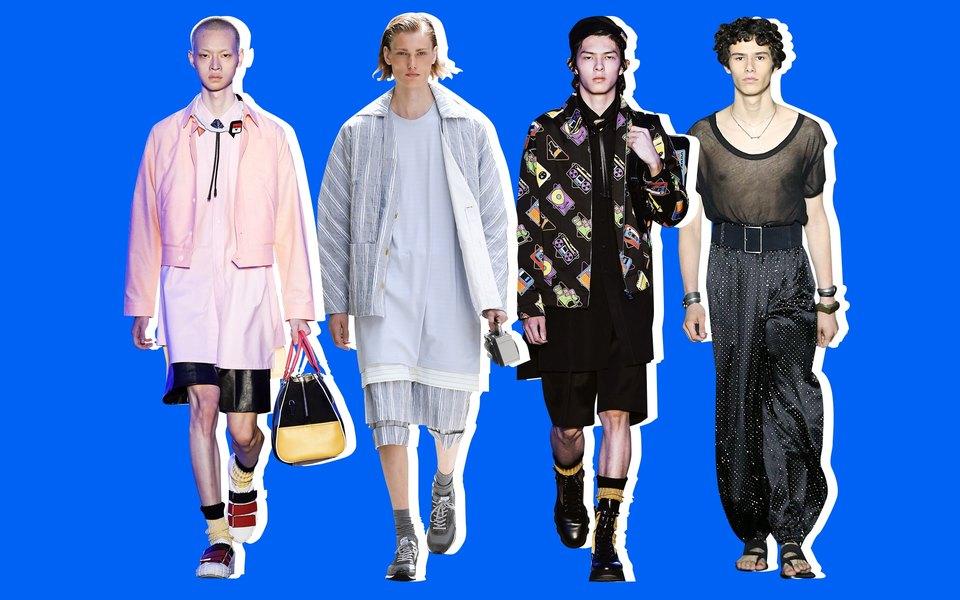 Неделя мужской моды весна-лето 2020: 5 показов, накоторые стоит обратить внимание
