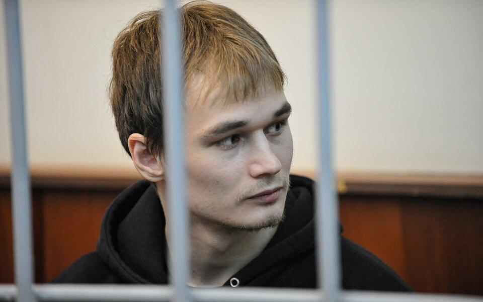 Прокуратура запросила дляаспиранта МГУ Азата Мифтахова 6 лет колонии заучастие вподжоге офиса «Единой России»