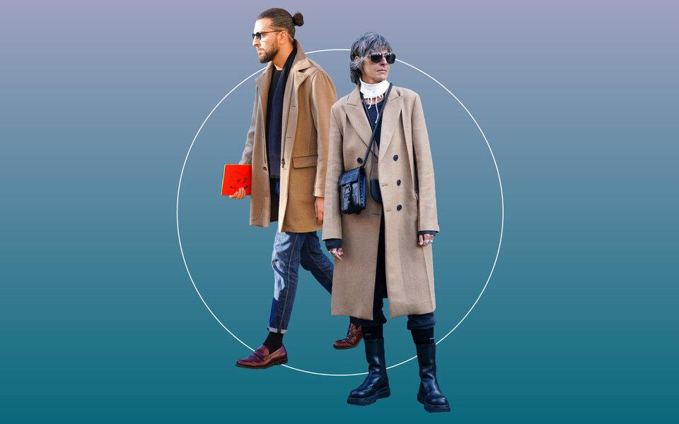 Бежевое пальто — классика мужского гардероба. Вот счем его можно носить этой осенью