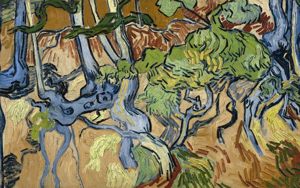 Во Франции нашли место, где Ван Гог написал «Корни деревьев» — последнюю картину передсмертью