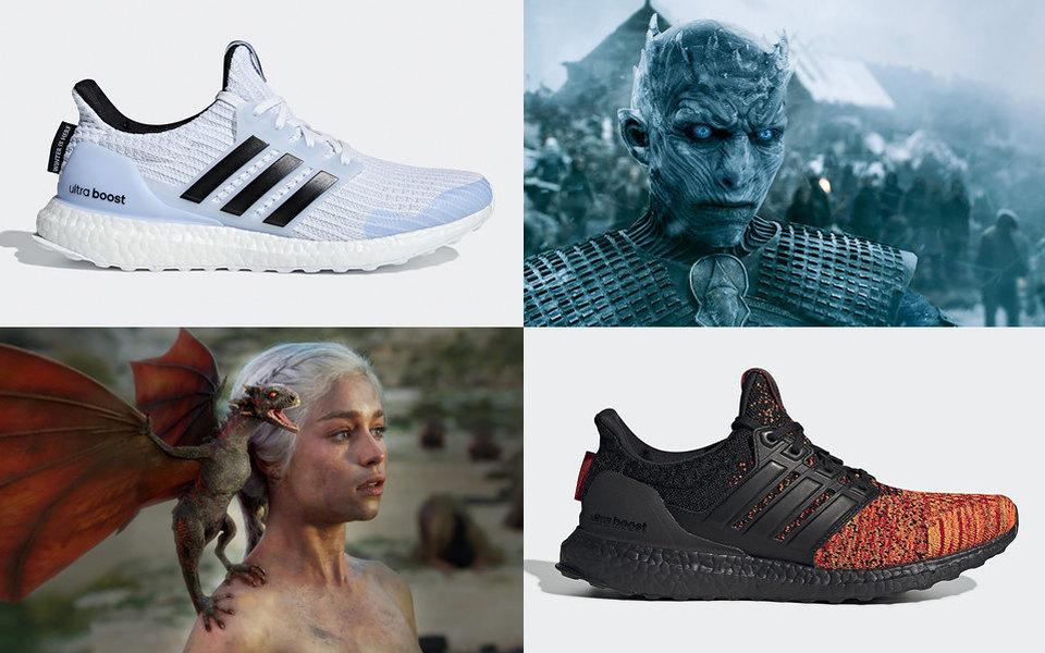 «Игра престолов»: все, что нужно знать окроссовках 'Game of Thrones' x adidas Ultra Boost