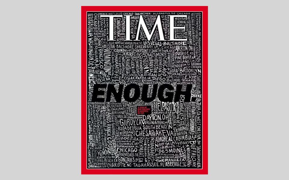 Time посвятил обложку проблеме внутреннего террора. Так журнал отреагировал настрельбу вОгайо иТехасе
