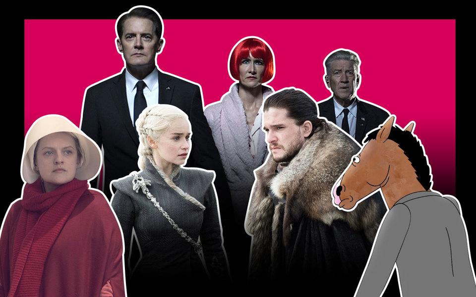 20 самых важных сериалов десятилетия — от«Твин Пикса» до«Игры престолов»