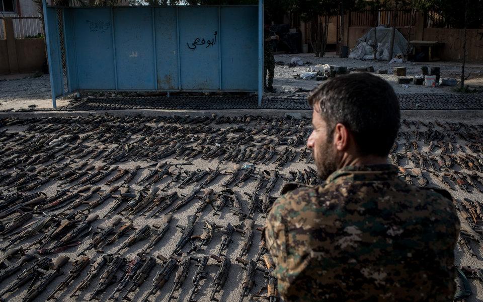 «Сирийские демократические силы» объявили опобеде надтеррористами «Исламского государства» вСирии