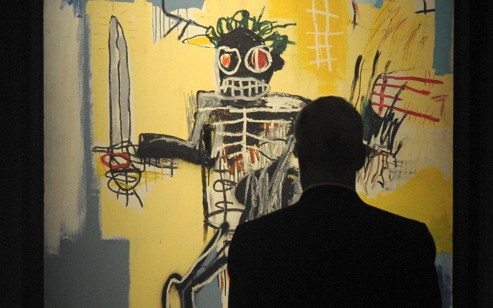 Работу Жан-Мишеля Баския «Воин» выставили нааукцион. Она может поставить рекорд постоимости